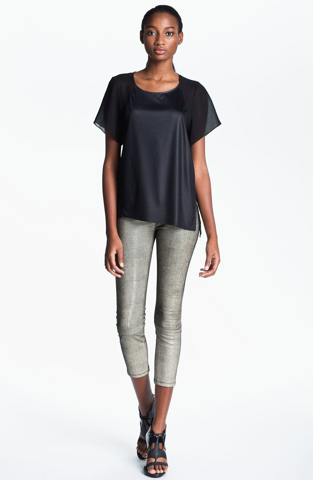 Alternate Image 1 Selected - Helmut Lang 'Vena' Slouchy Tee