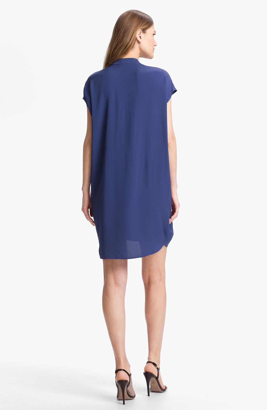 Alternate Image 2  - Vince Silk Tunic Dress