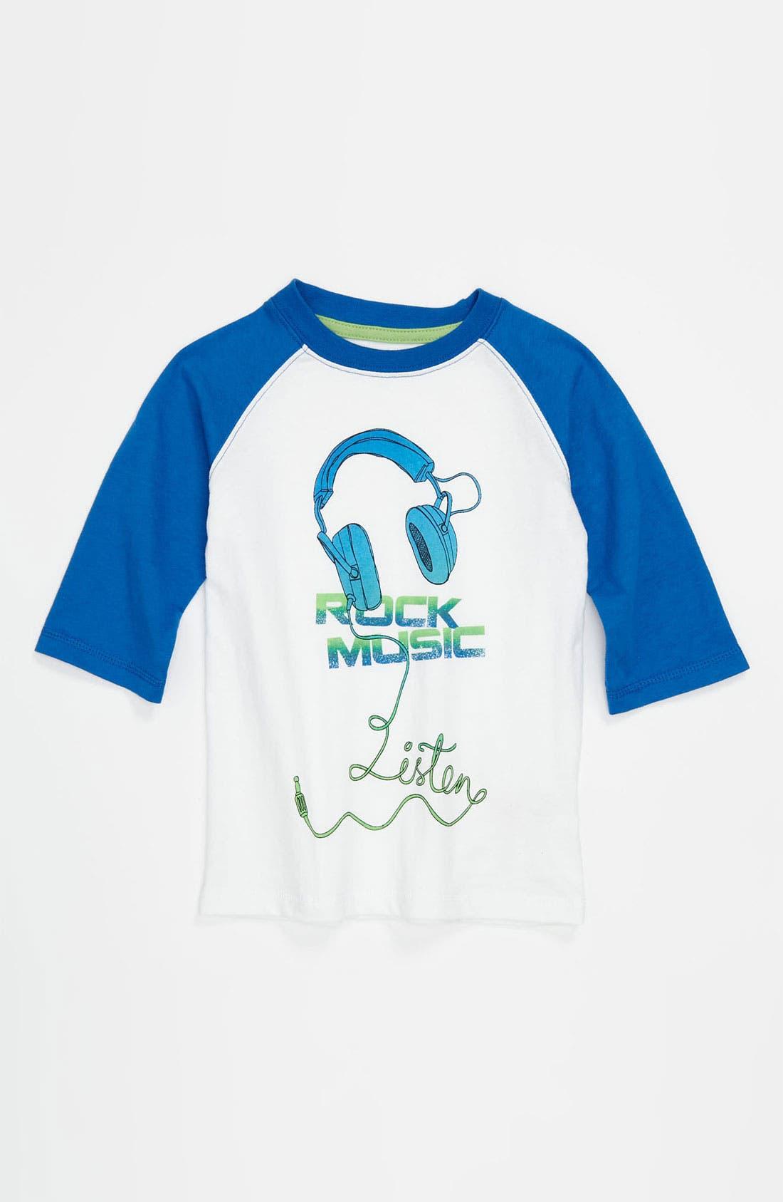 Alternate Image 1 Selected - Pumpkin Patch Baseball T-Shirt (Baby)