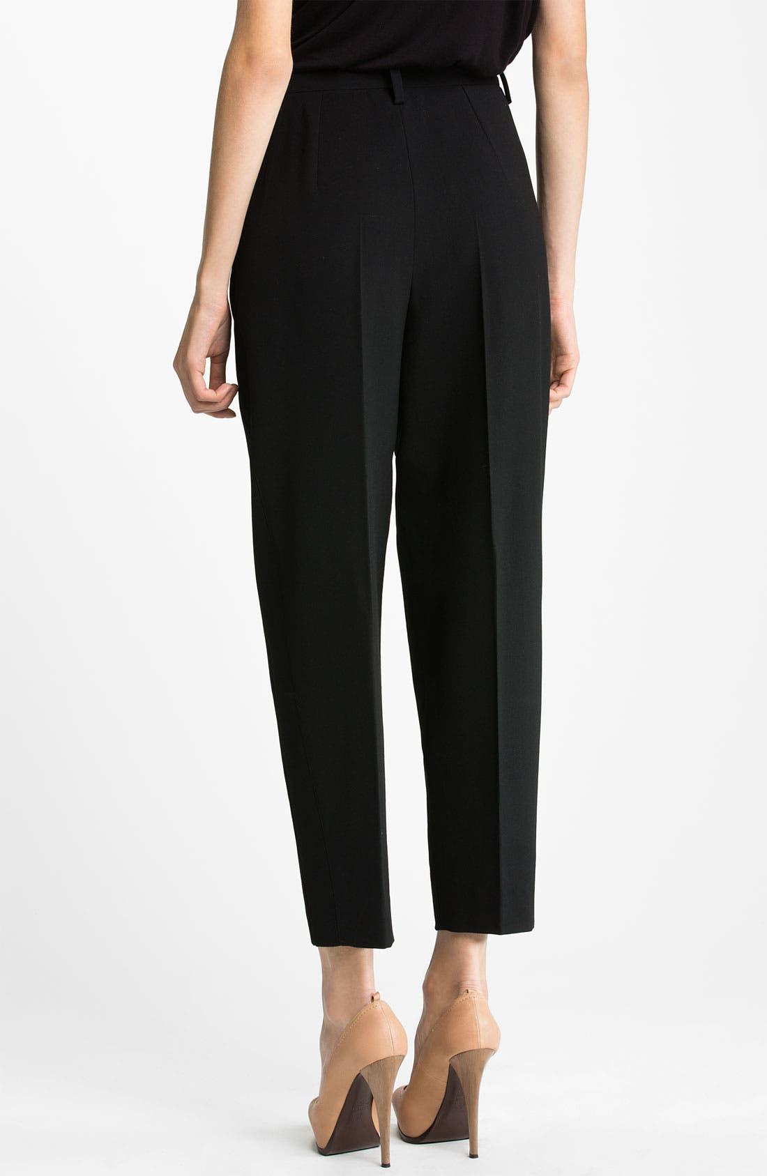 Alternate Image 2  - Lanvin Wool Crepe Crop Pants