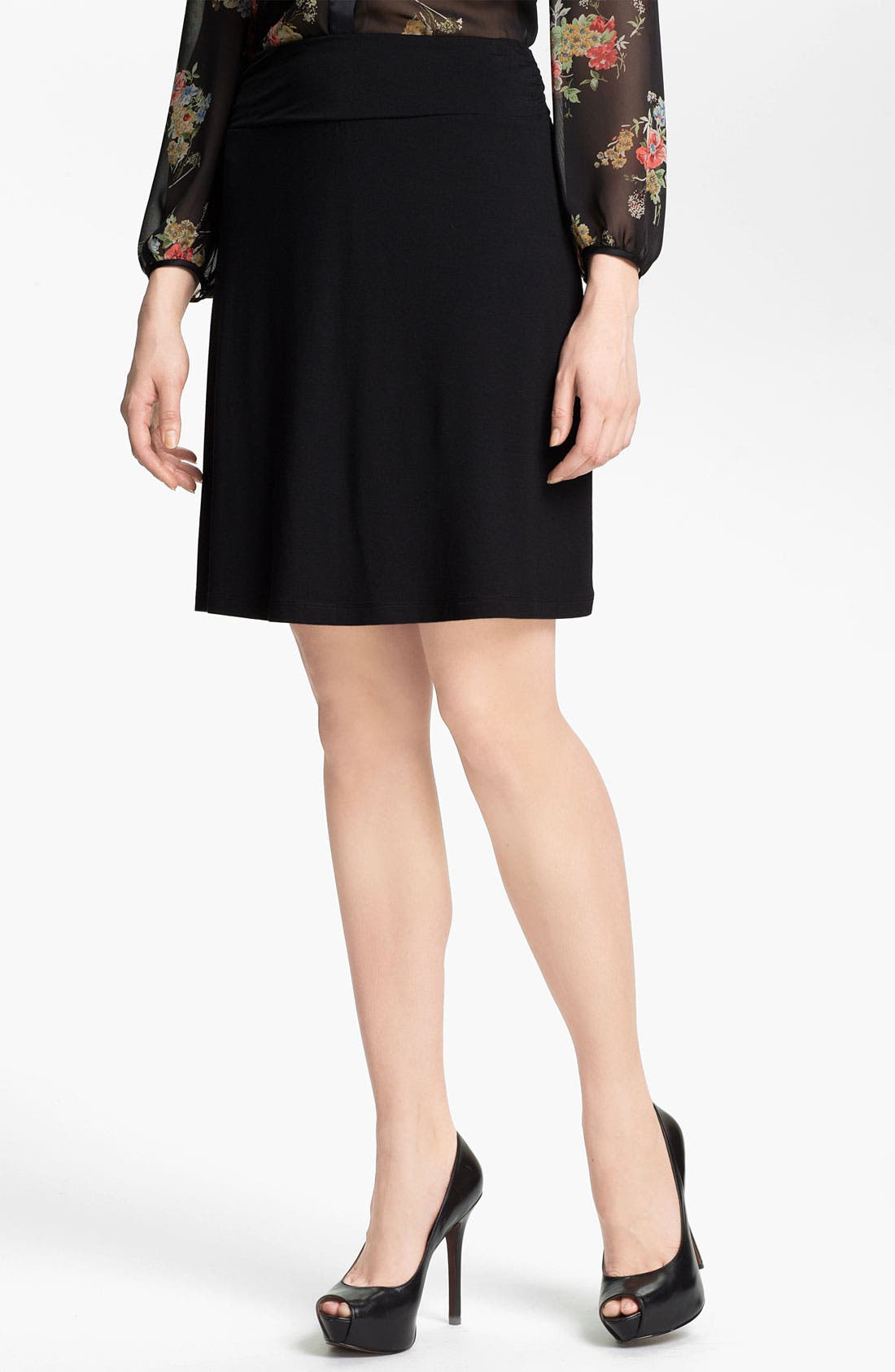 Alternate Image 1 Selected - Caslon® Short Knit Skirt