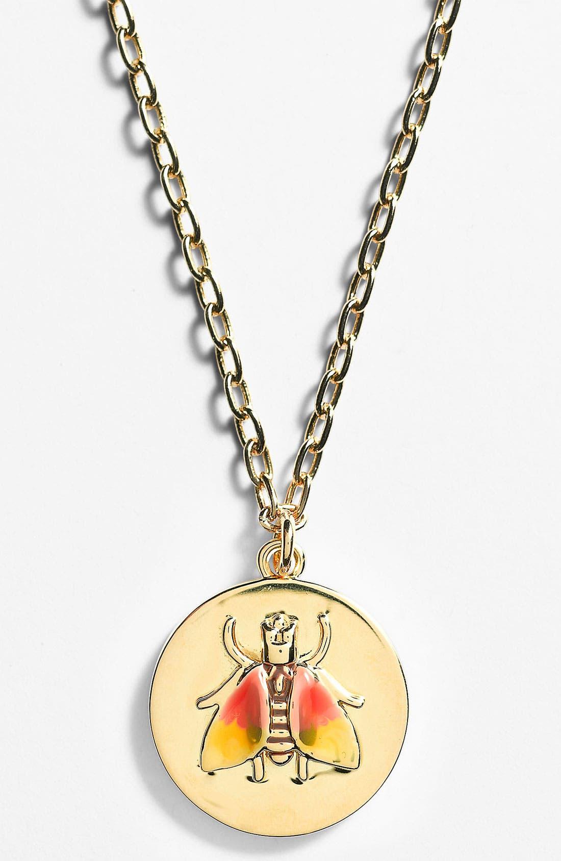 Main Image - Tory Burch 'Buddy' Pendant Necklace
