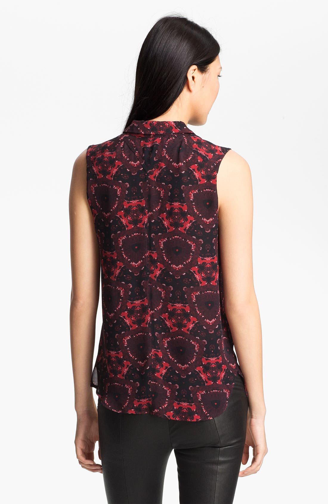 Alternate Image 3  - A.L.C. 'Mackay' Print Silk Top