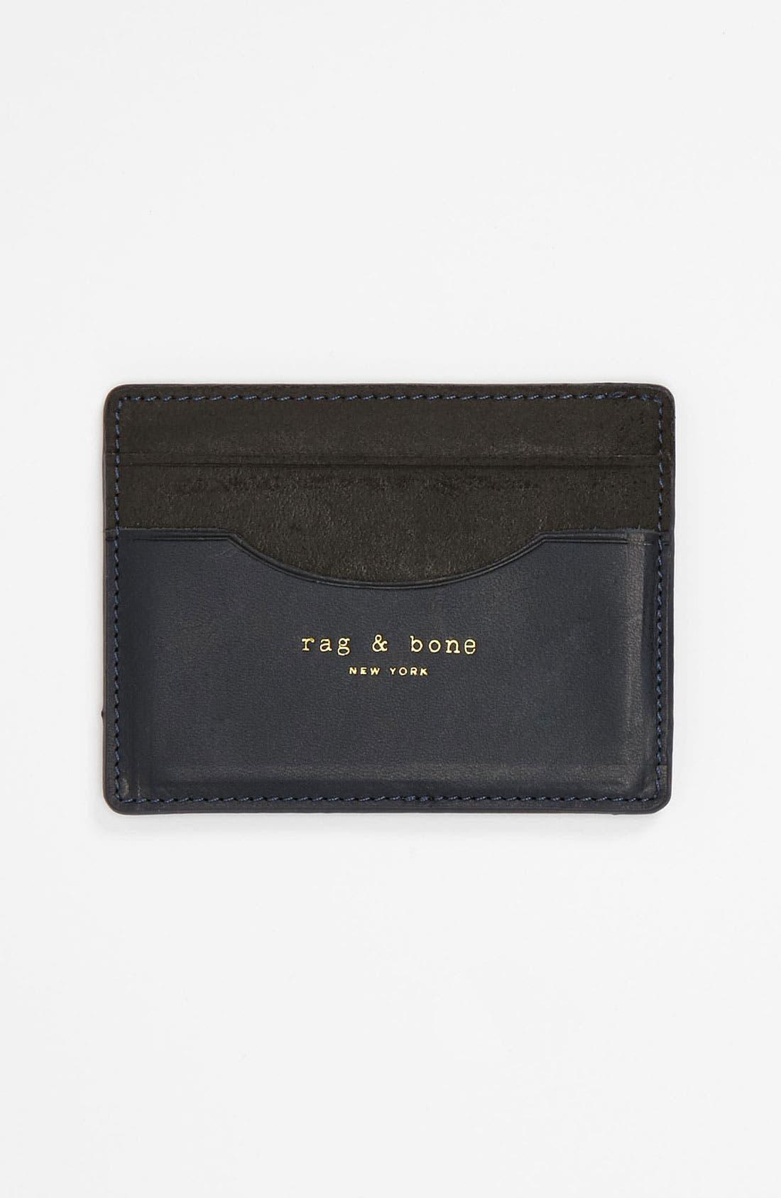 Main Image - rag & bone Leather Card Case