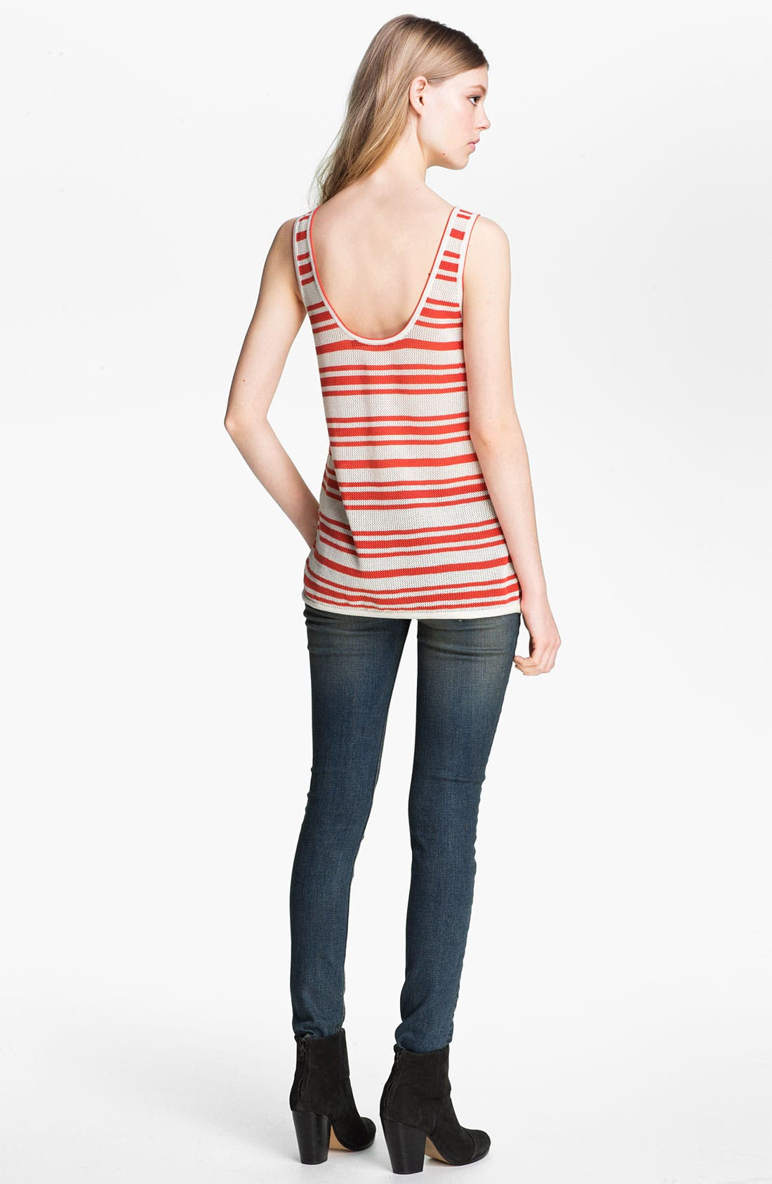 Alternate Image 4  - rag & bone/JEAN 'Kathie' Stripe Tank