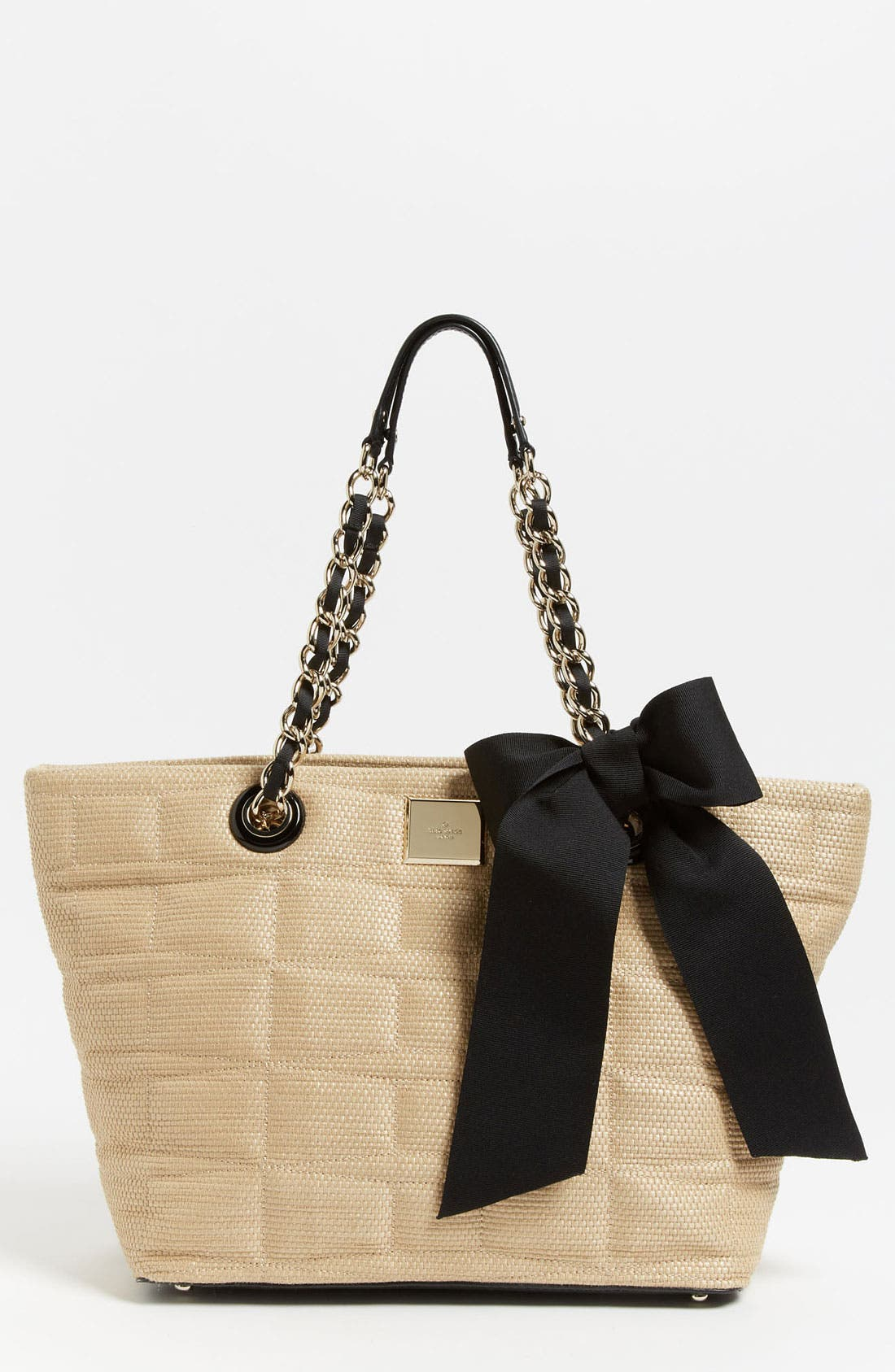 Main Image - kate spade new york 'signature spade - small coal' shoulder bag