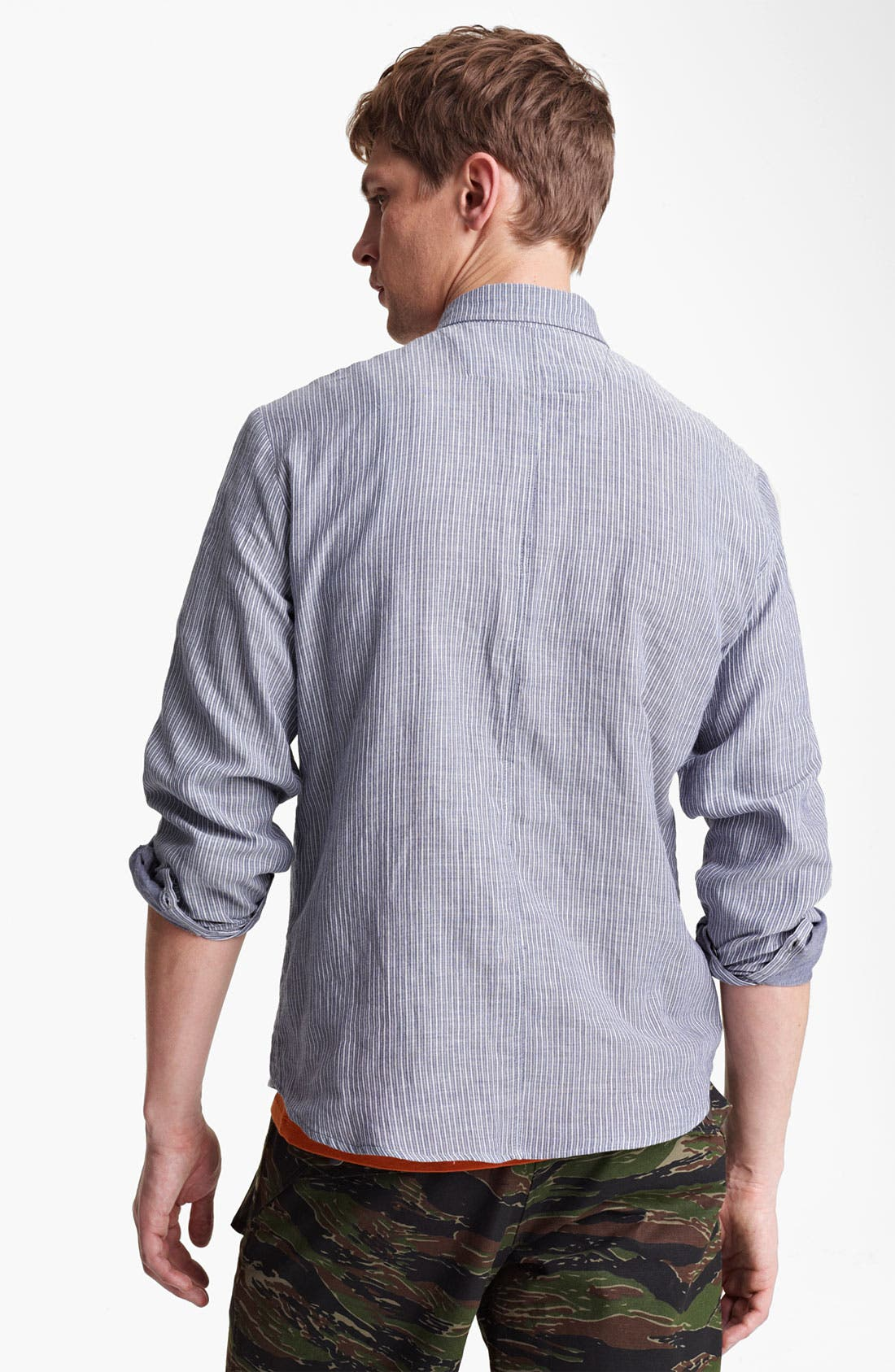 Alternate Image 2  - Field Scout Stripe Woven Shirt