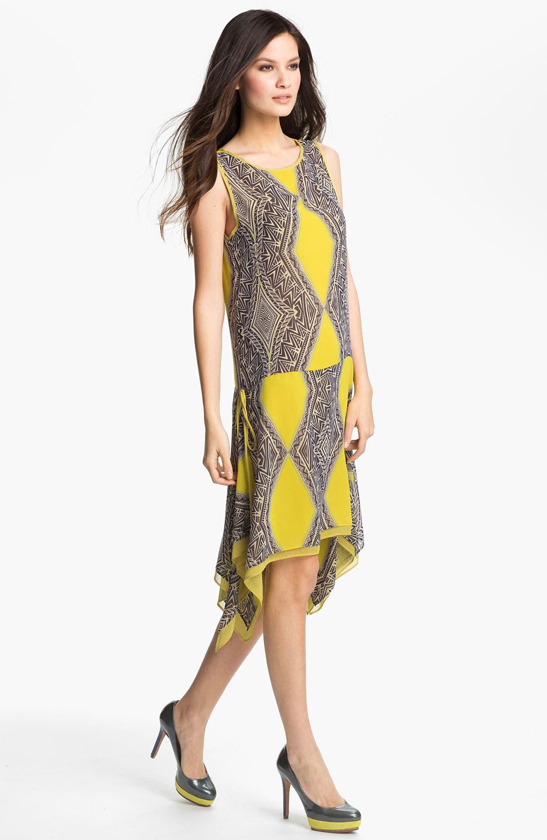 Main Image - Kay Celine Print Drop Waist Dress