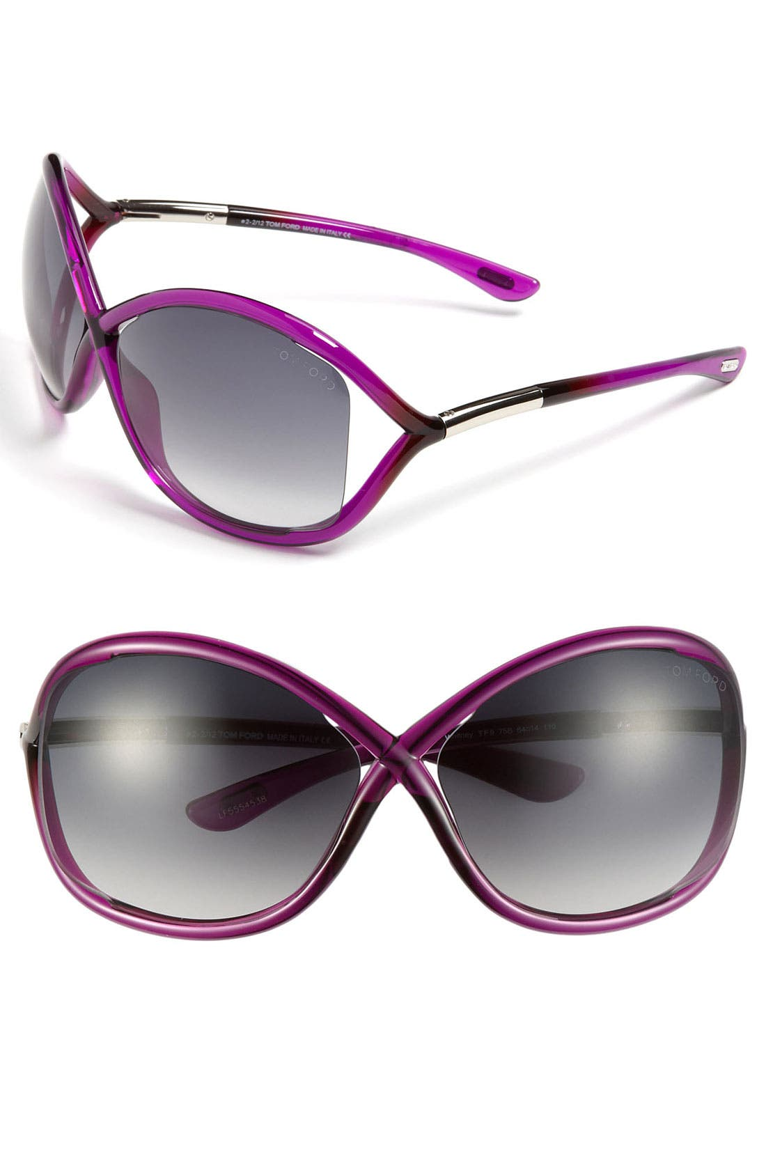 Alternate Image 1 Selected - Tom Ford 'Whitney' 64mm Sunglasses