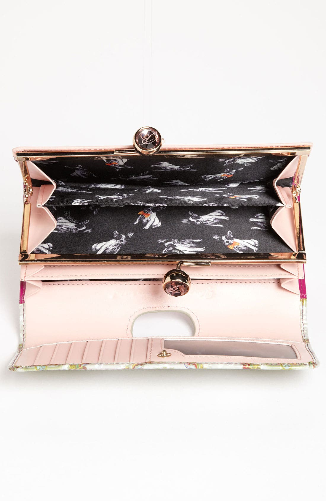 Alternate Image 3  - Ted Baker London 'Baroque Deco Crystal Bobble' Matinee Wallet