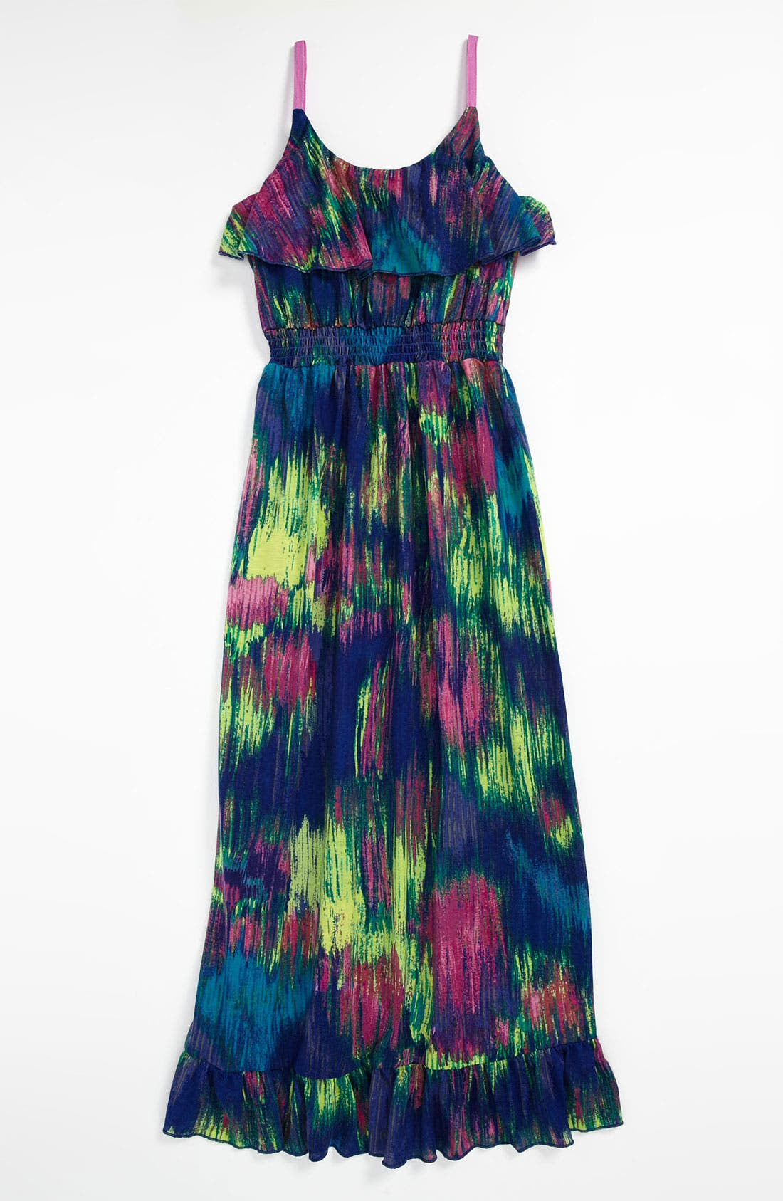 Main Image - Fire Maxi Dress (Big Girls)