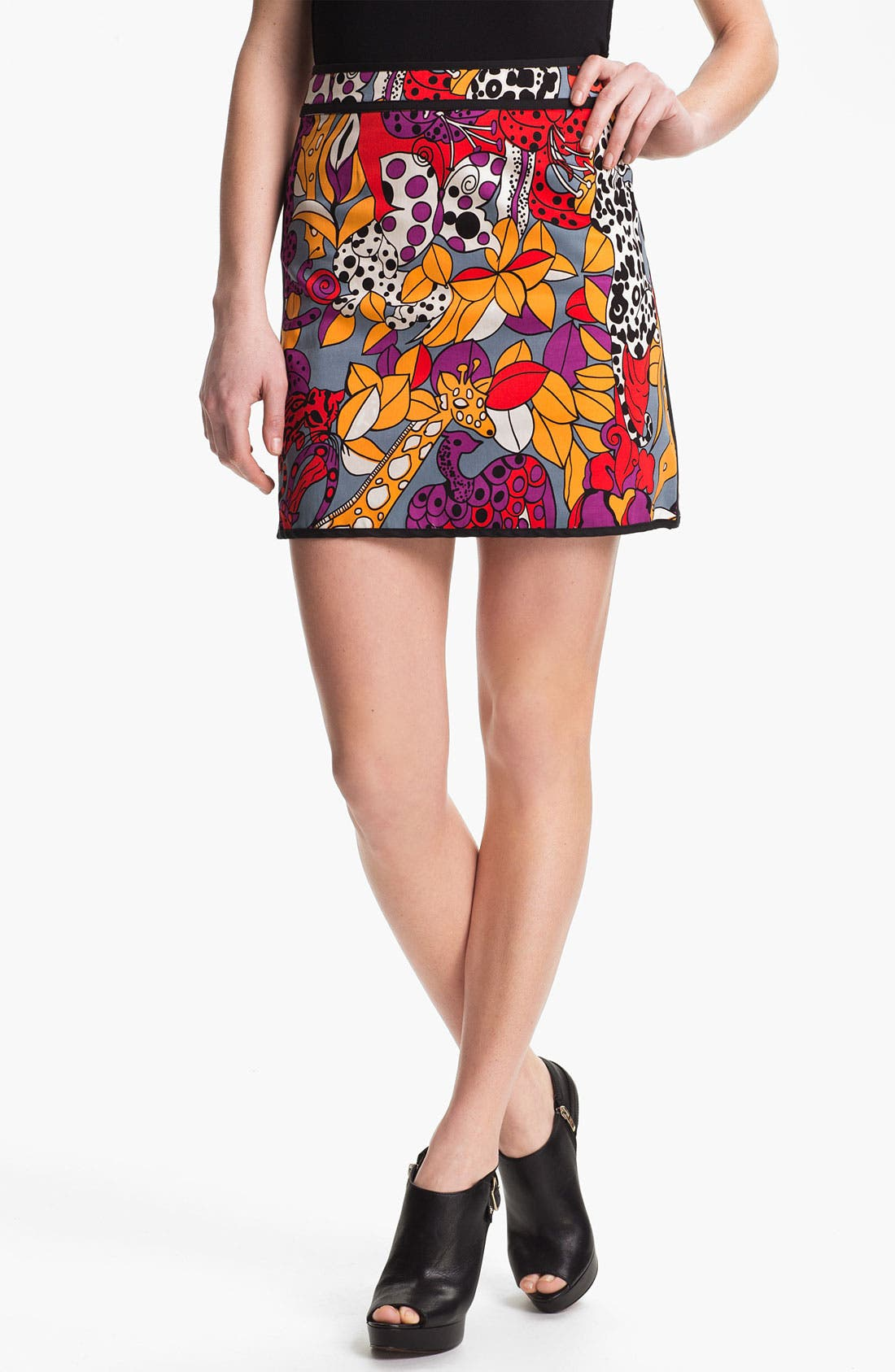 Alternate Image 1 Selected - Nanette Lepore 'Jungle' Skirt
