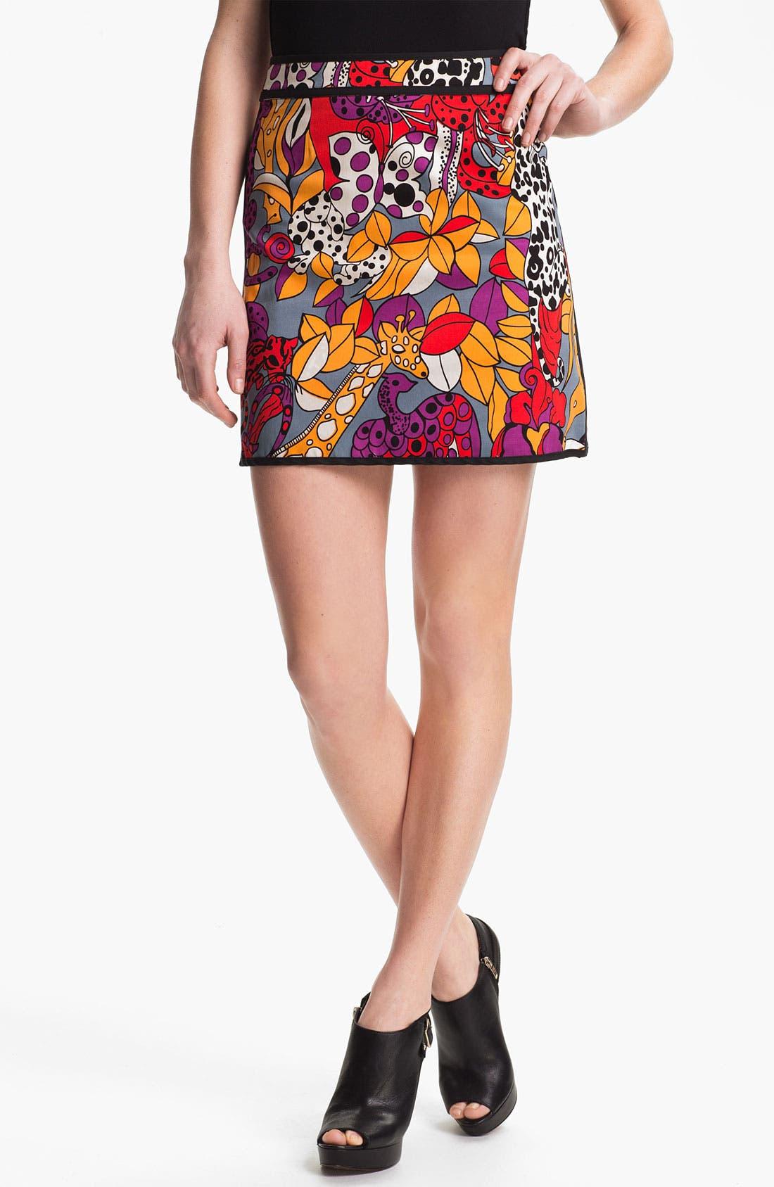 Main Image - Nanette Lepore 'Jungle' Skirt