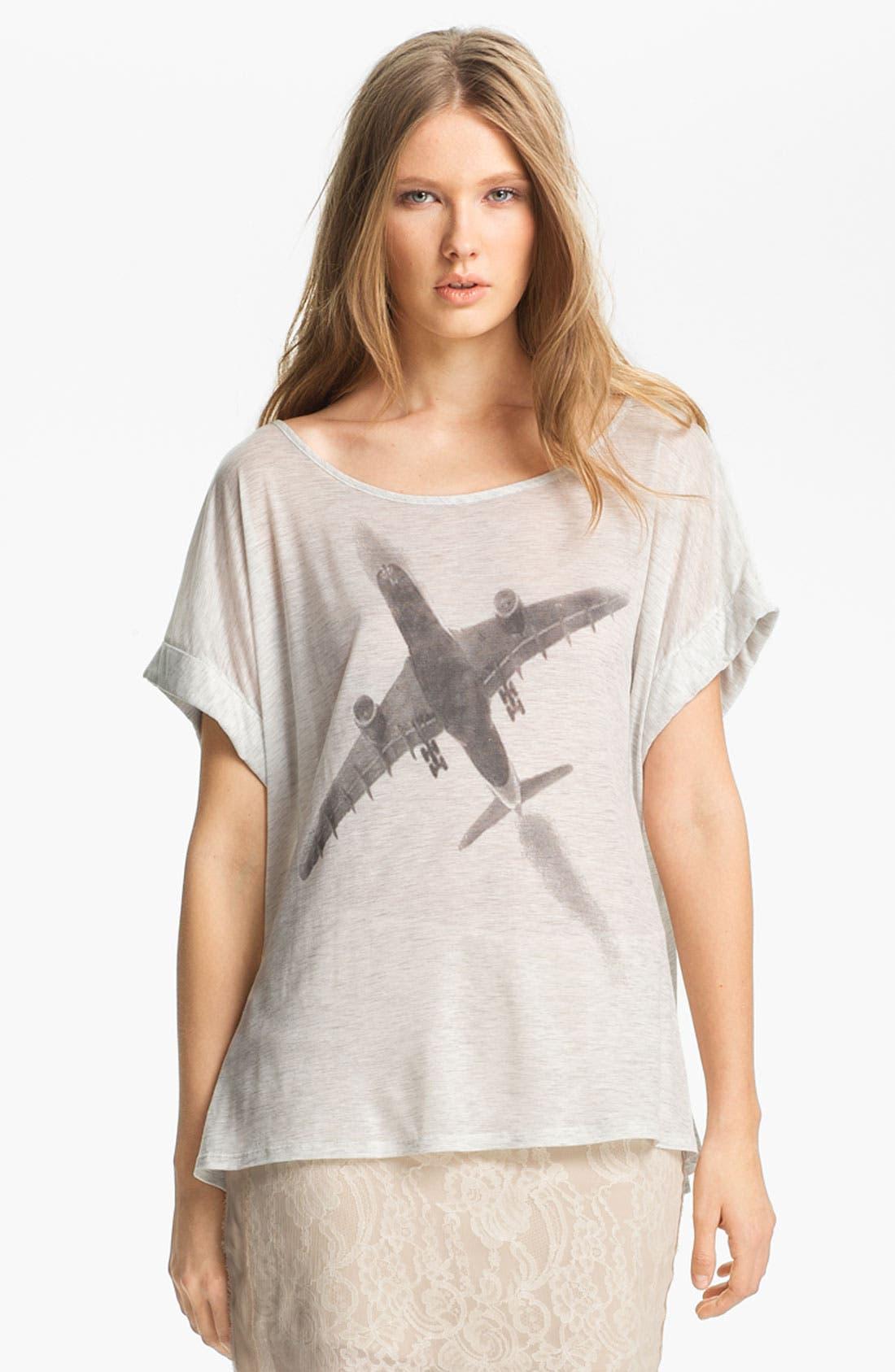 Main Image - Haute Hippie 'Fly Away' Jersey Tee