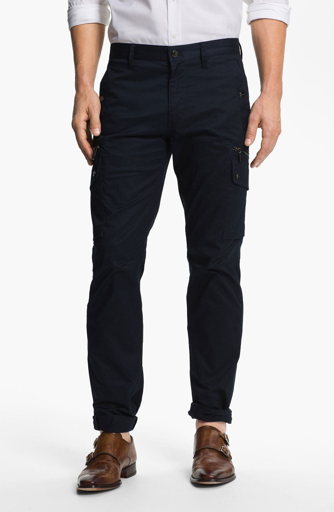 Alternate Image 1 Selected - Michael Kors Slim Leg Utility Pants