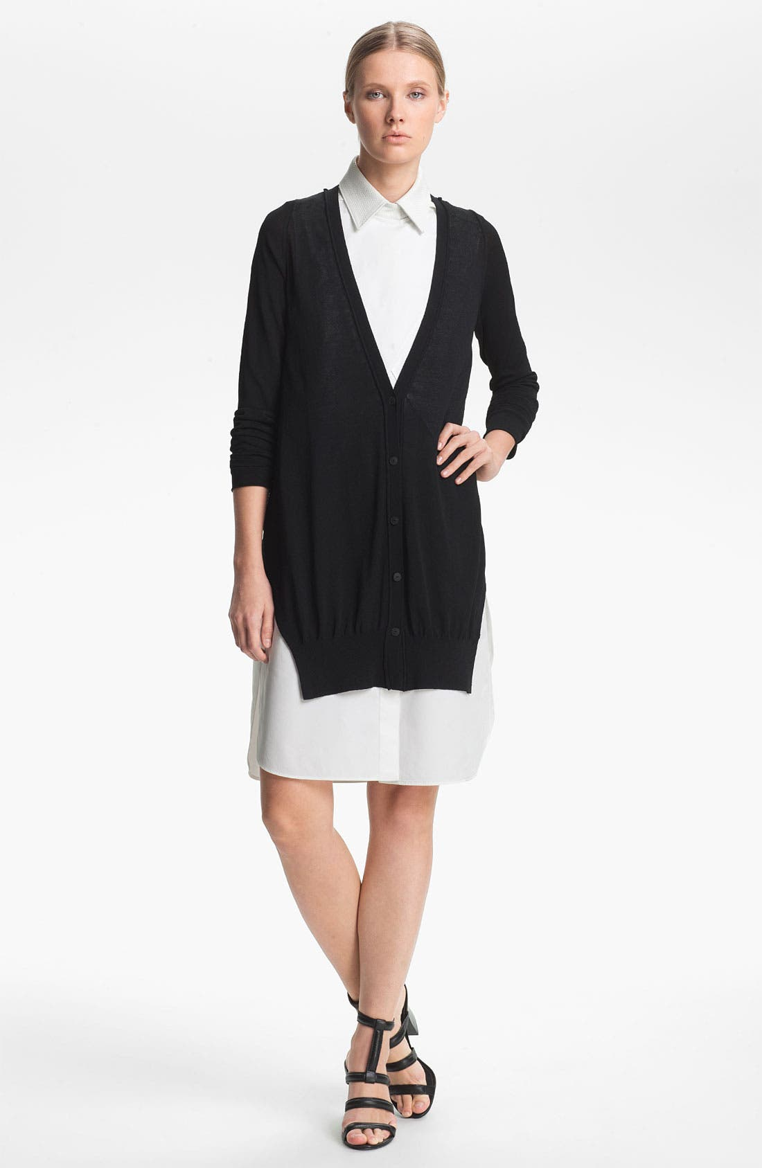 Alternate Image 1 Selected - Alexander Wang Jersey Cardigan