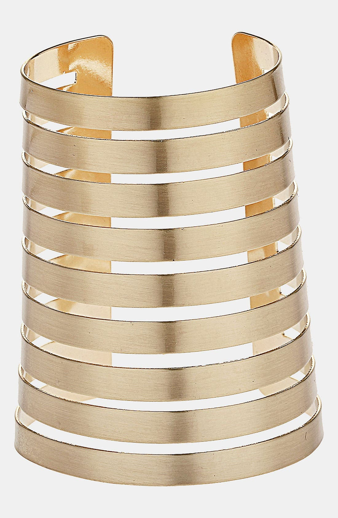 Alternate Image 1 Selected - Topshop Spiral Cuff