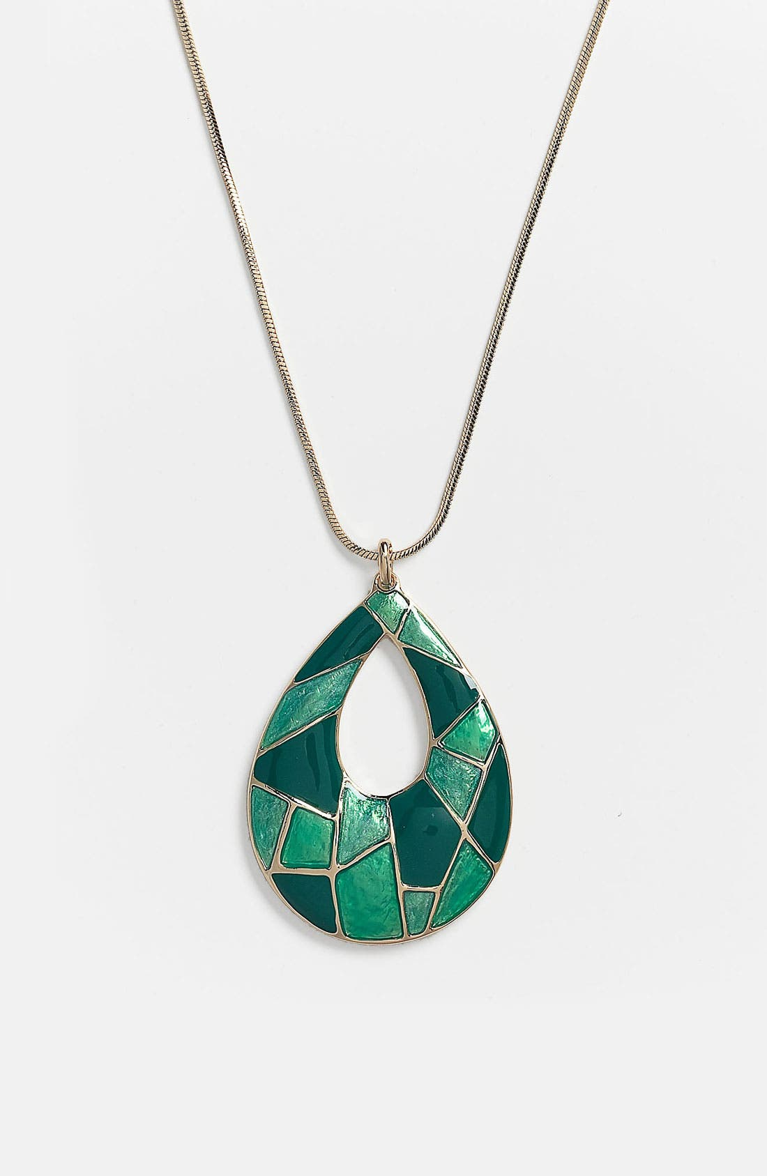 Alternate Image 1 Selected - Nordstrom 'Mosaics' Reversible Pendant Necklace