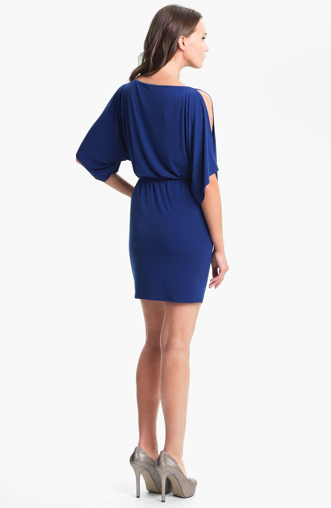 Alternate Image 2  - Trina Turk 'Berenice' Beaded Blouson Dress
