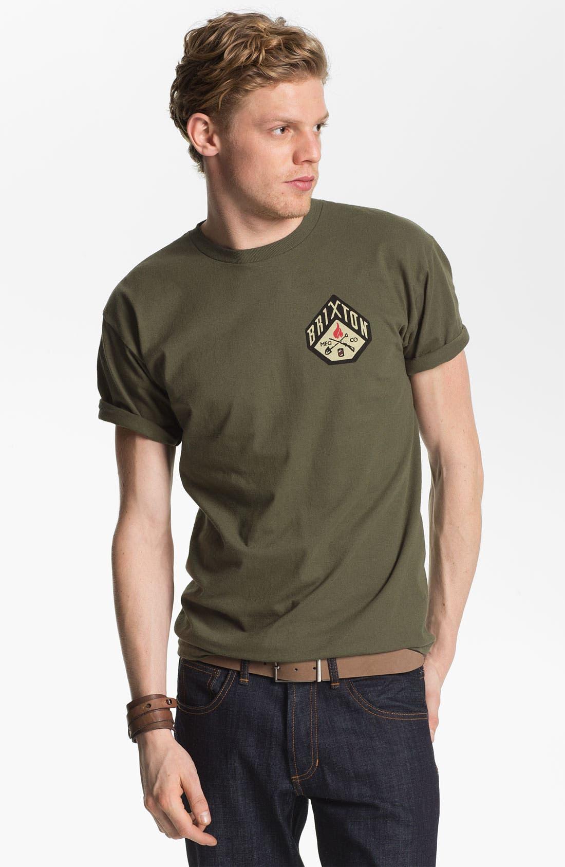 Main Image - Brixton 'Stratton' Graphic T-Shirt