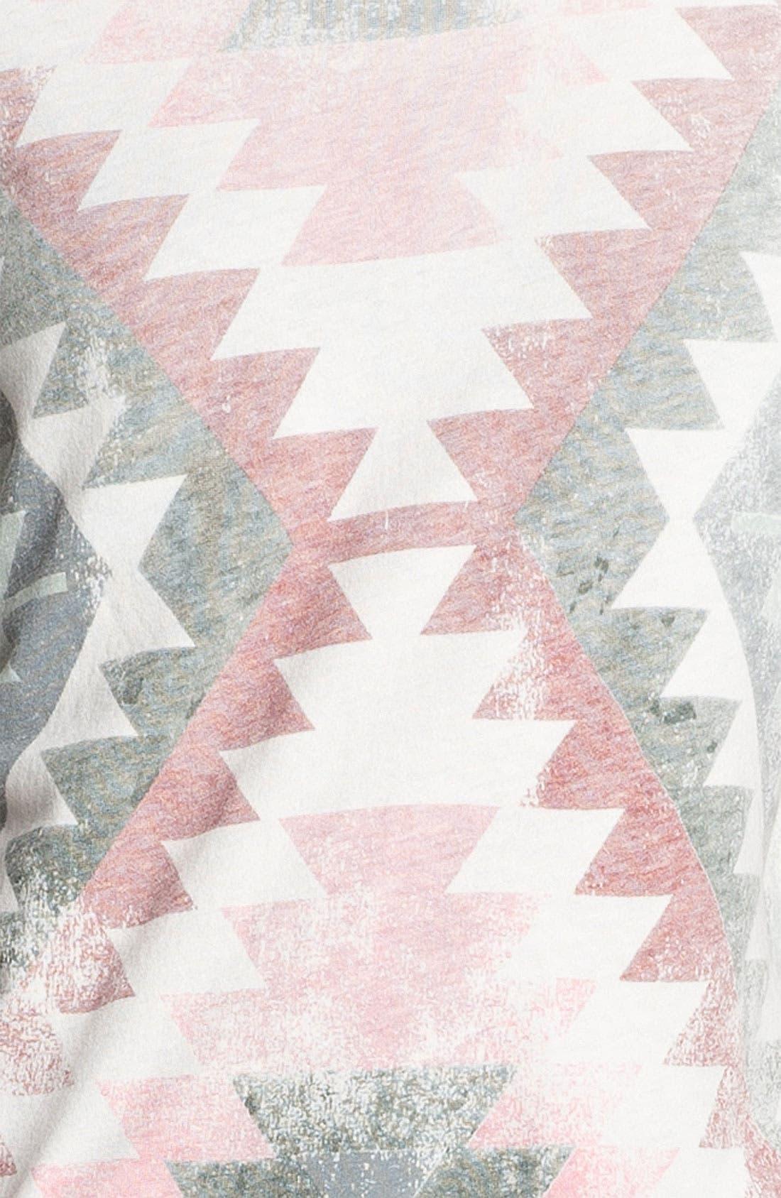 Alternate Image 5  - Current/Elliott 'Freshman' Print Tee