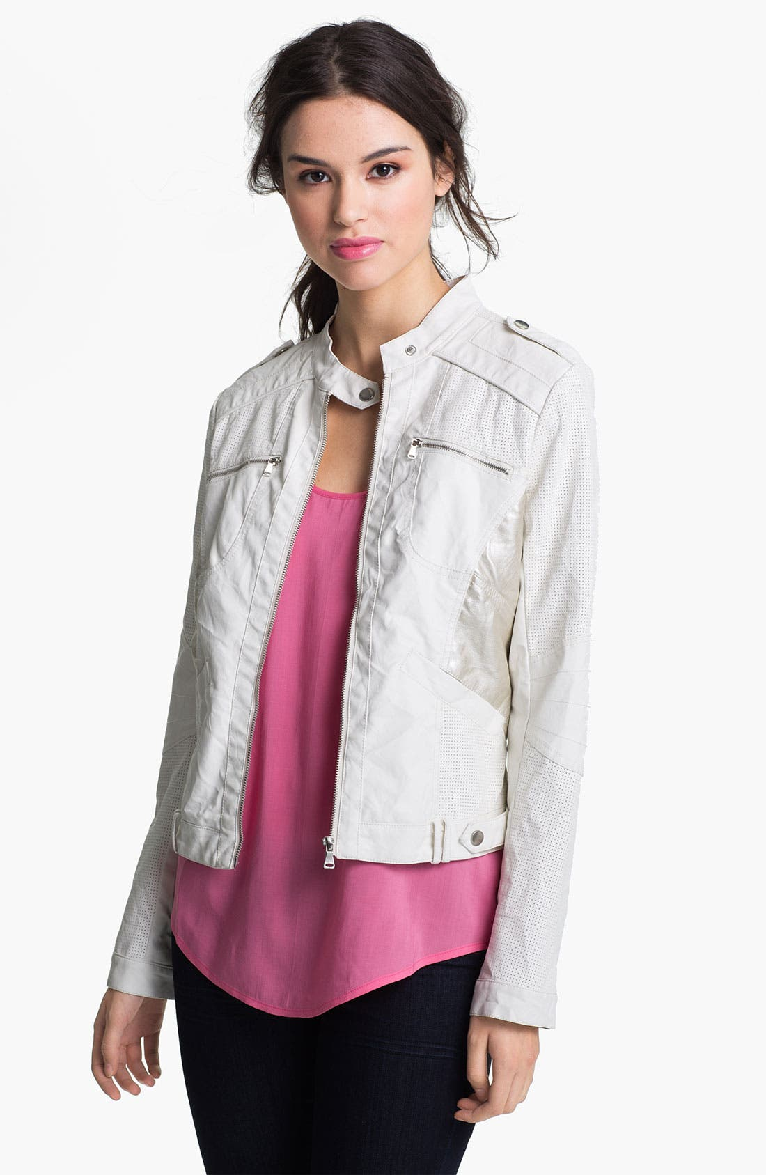 Alternate Image 1 Selected - Bernardo Moto Jacket