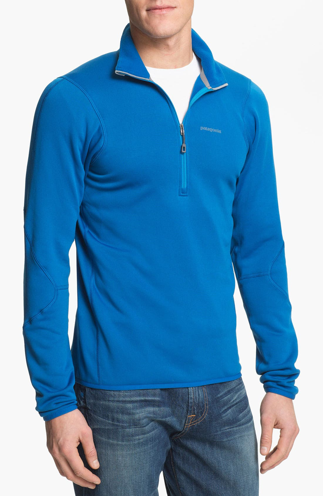 Alternate Image 1 Selected - Patagonia Half-Zip Stretch Pullover