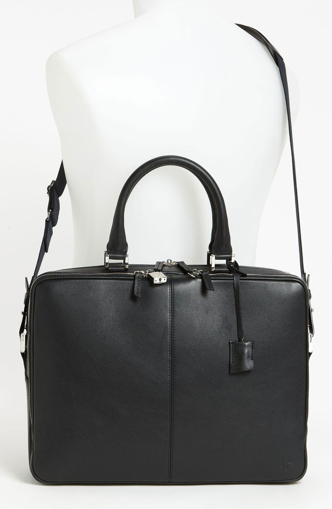 Alternate Image 4  - WANT Les Essentiels de la Vie 'Trudeay' Leather Briefcase