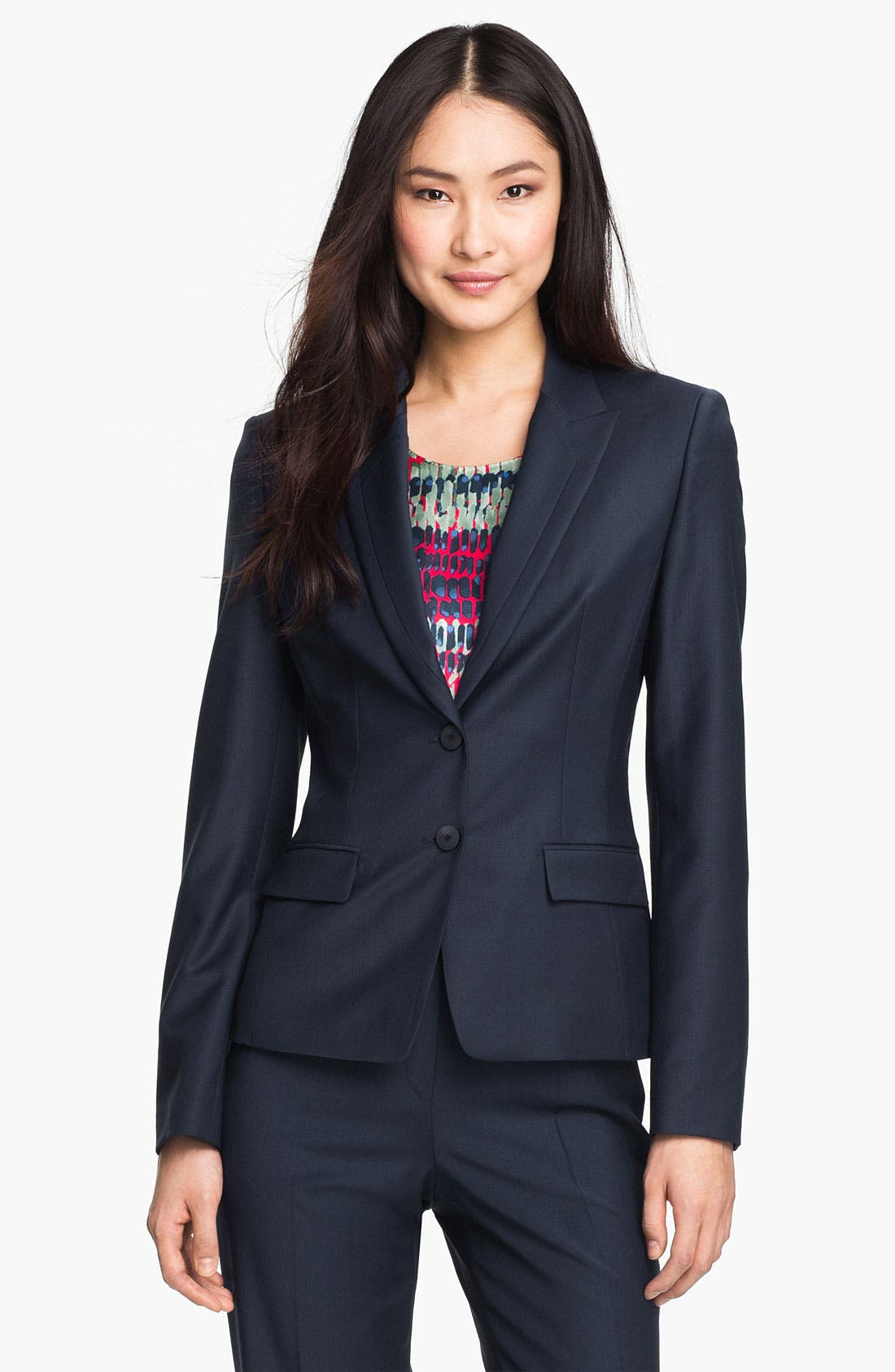 Alternate Image 1 Selected - BOSS Black 'Jaellesa' Jacket
