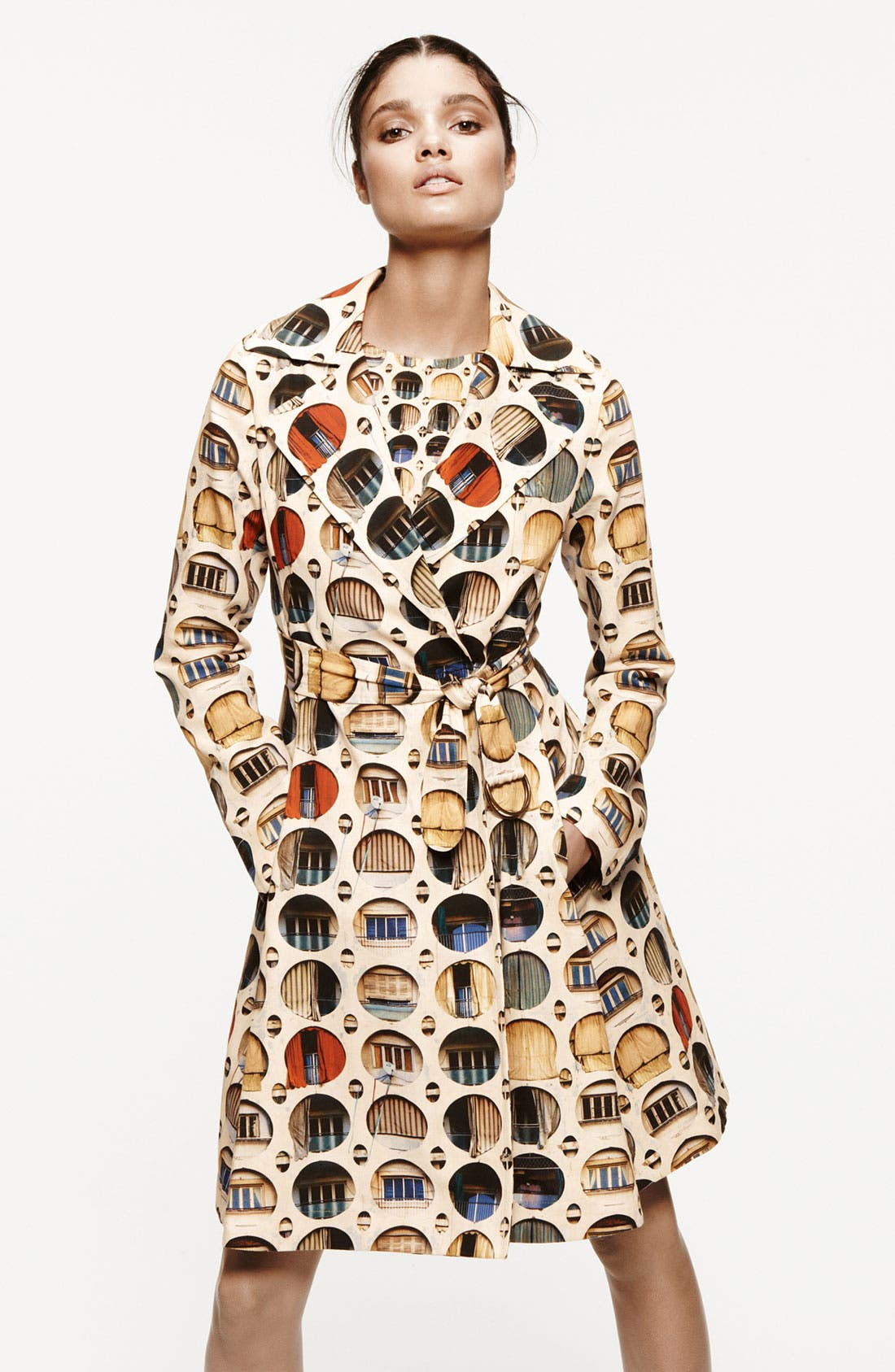 Alternate Image 4  - Akris punto Façade Print Dress