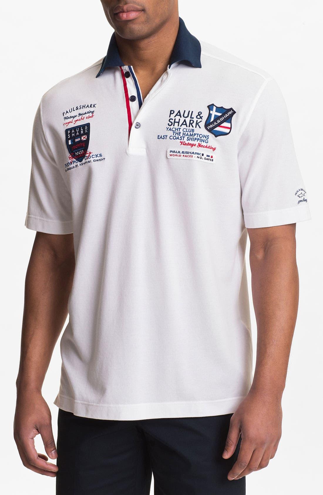 Main Image - Paul & Shark Classic Fit Polo
