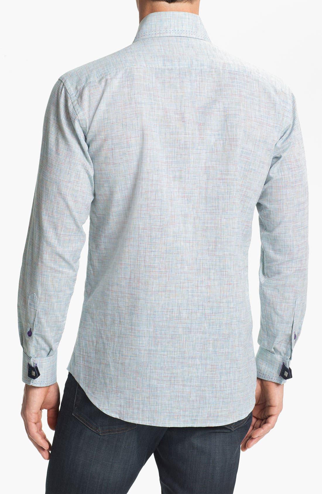 Alternate Image 2  - Bogosse 'Matis 93' Trim Fit Sport Shirt