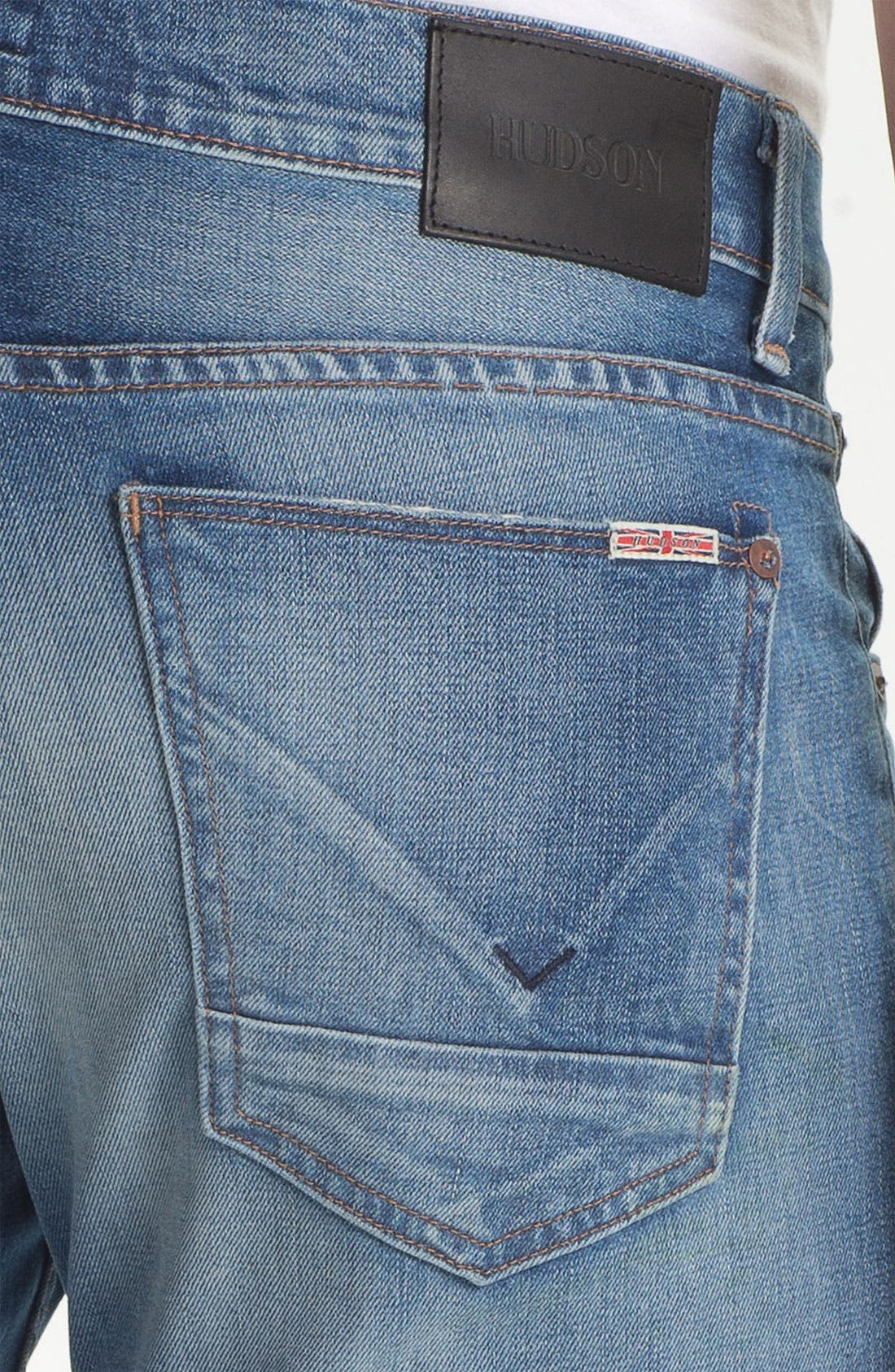 Alternate Image 4  - Hudson Jeans 'Byron' Straight Leg Jeans (Seether)