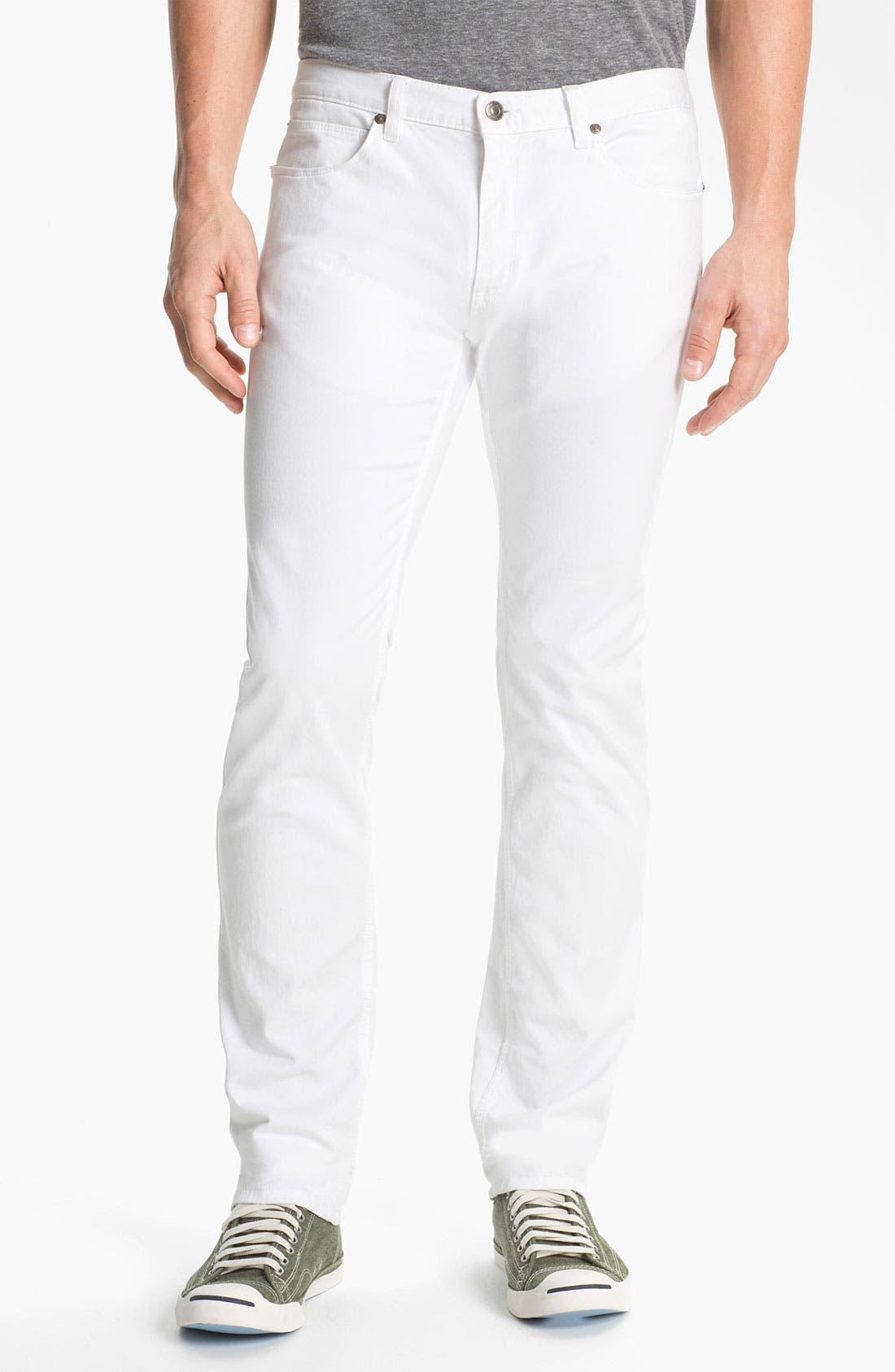 Alternate Image 1 Selected - HUGO '708' Slim Straight Jeans