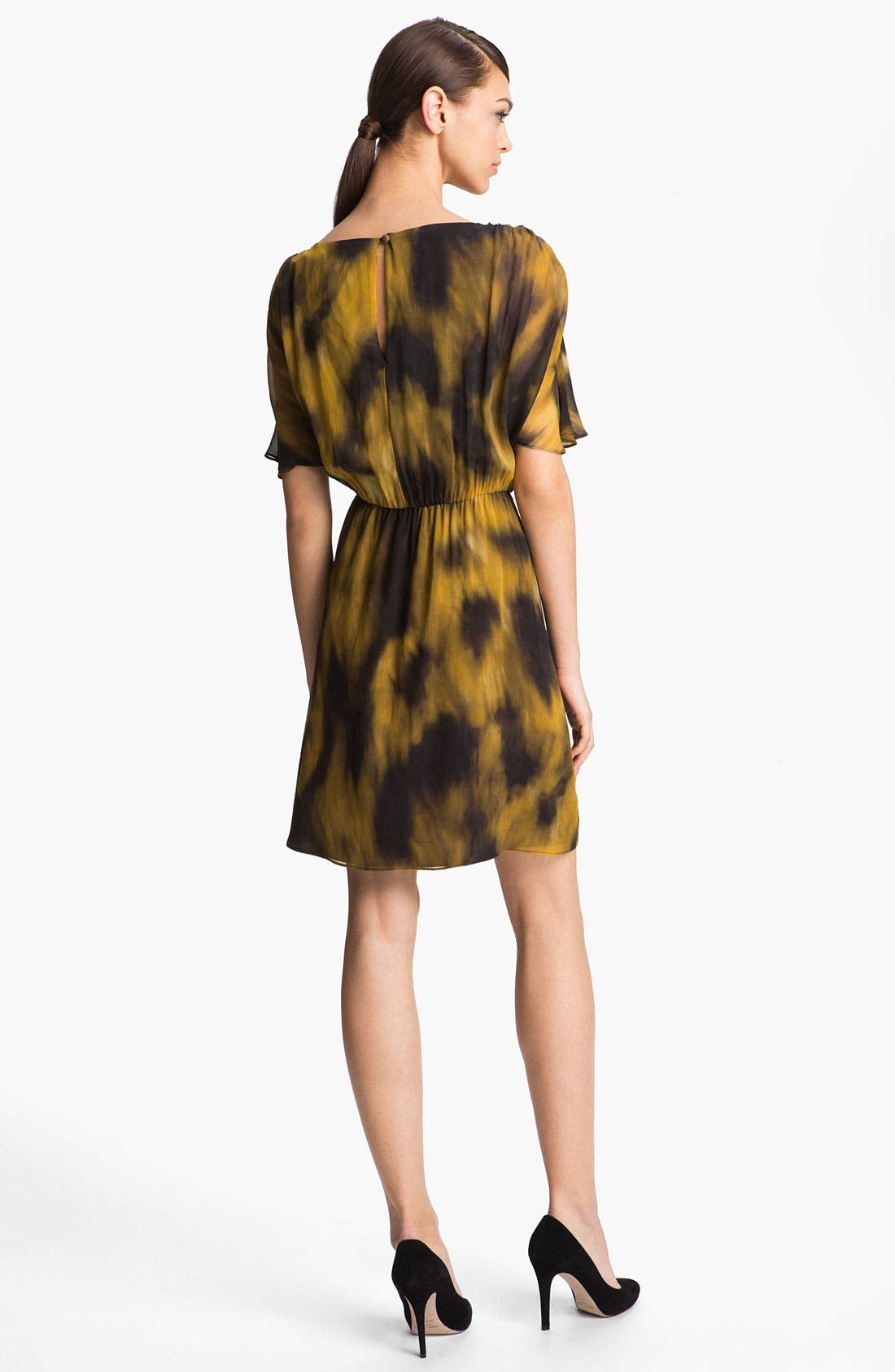 Alternate Image 2  - Alice + Olivia 'Jillianne' Print Blouson Dress