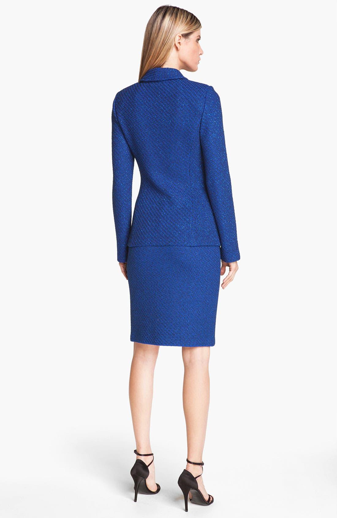 Alternate Image 3  - St. John Collection Ivy Tweed Pencil Skirt