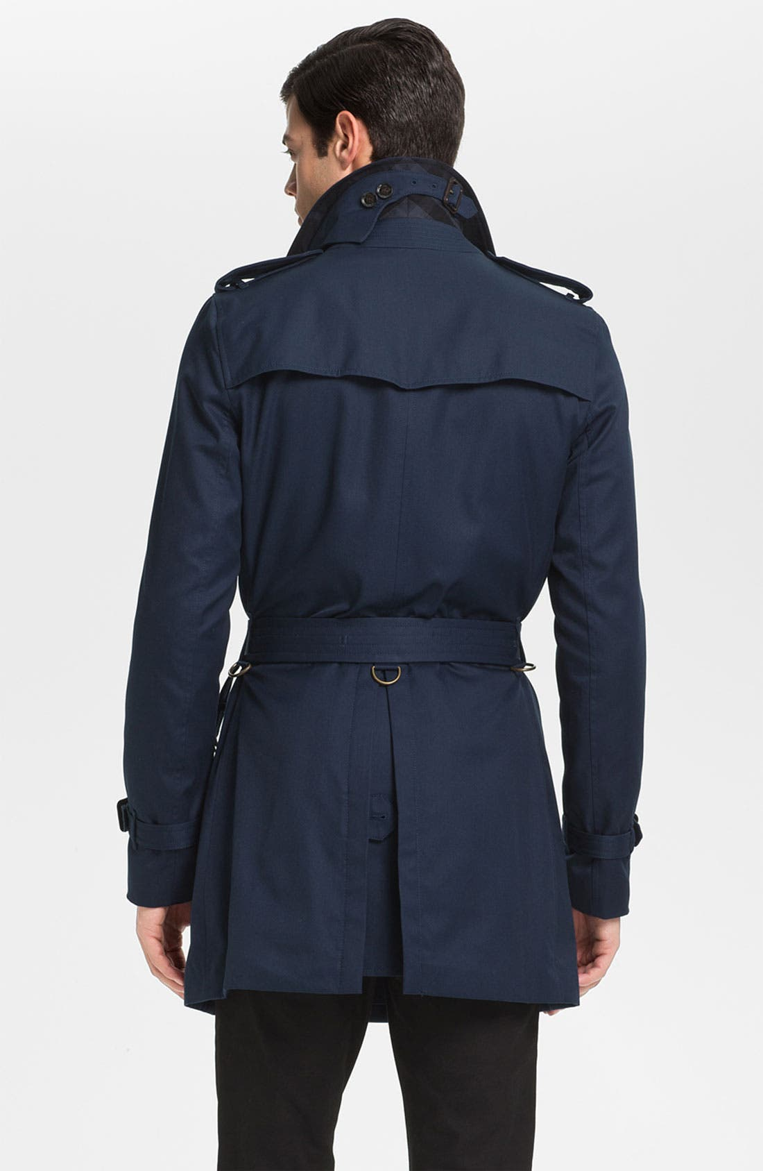 Alternate Image 2  - Burberry London Double Breasted Trench Coat