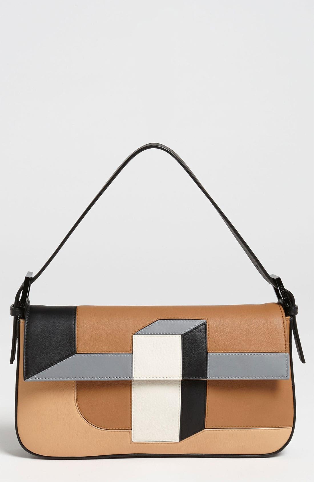 Main Image - Fendi '3D' Leather Baguette