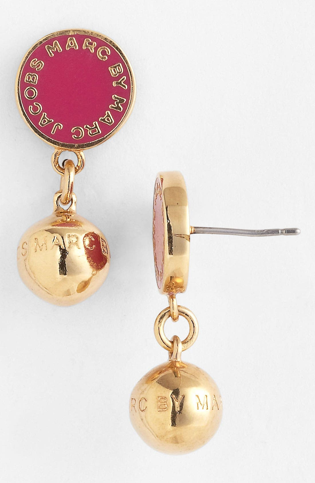 Alternate Image 1 Selected - MARC BY MARC JACOBS 'Classic Marc' Drop Earrings