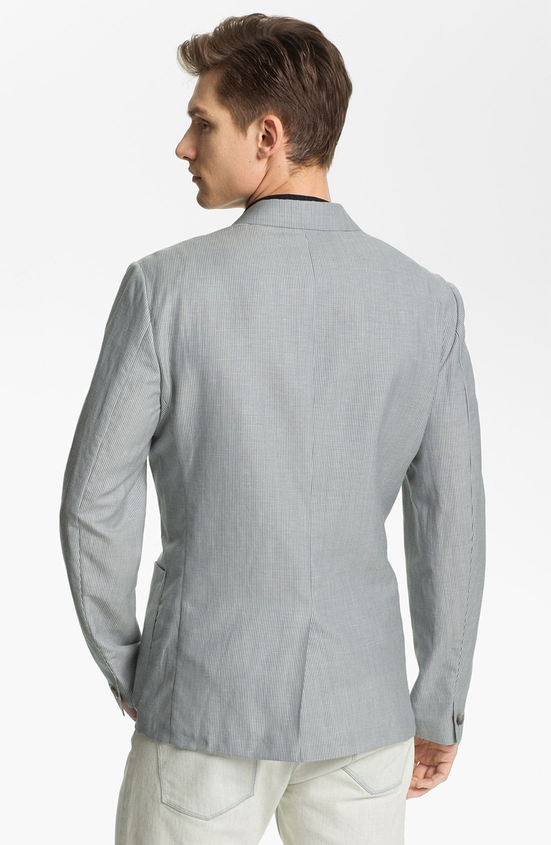 Alternate Image 2  - Theory 'Jaiden Follett' Wool & Linen Blazer