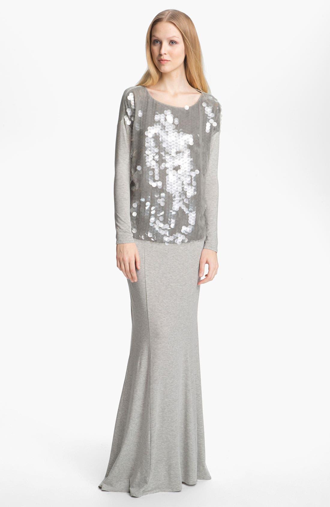 Alternate Image 1 Selected - Rachel Zoe 'Cori' Sequin Front Top