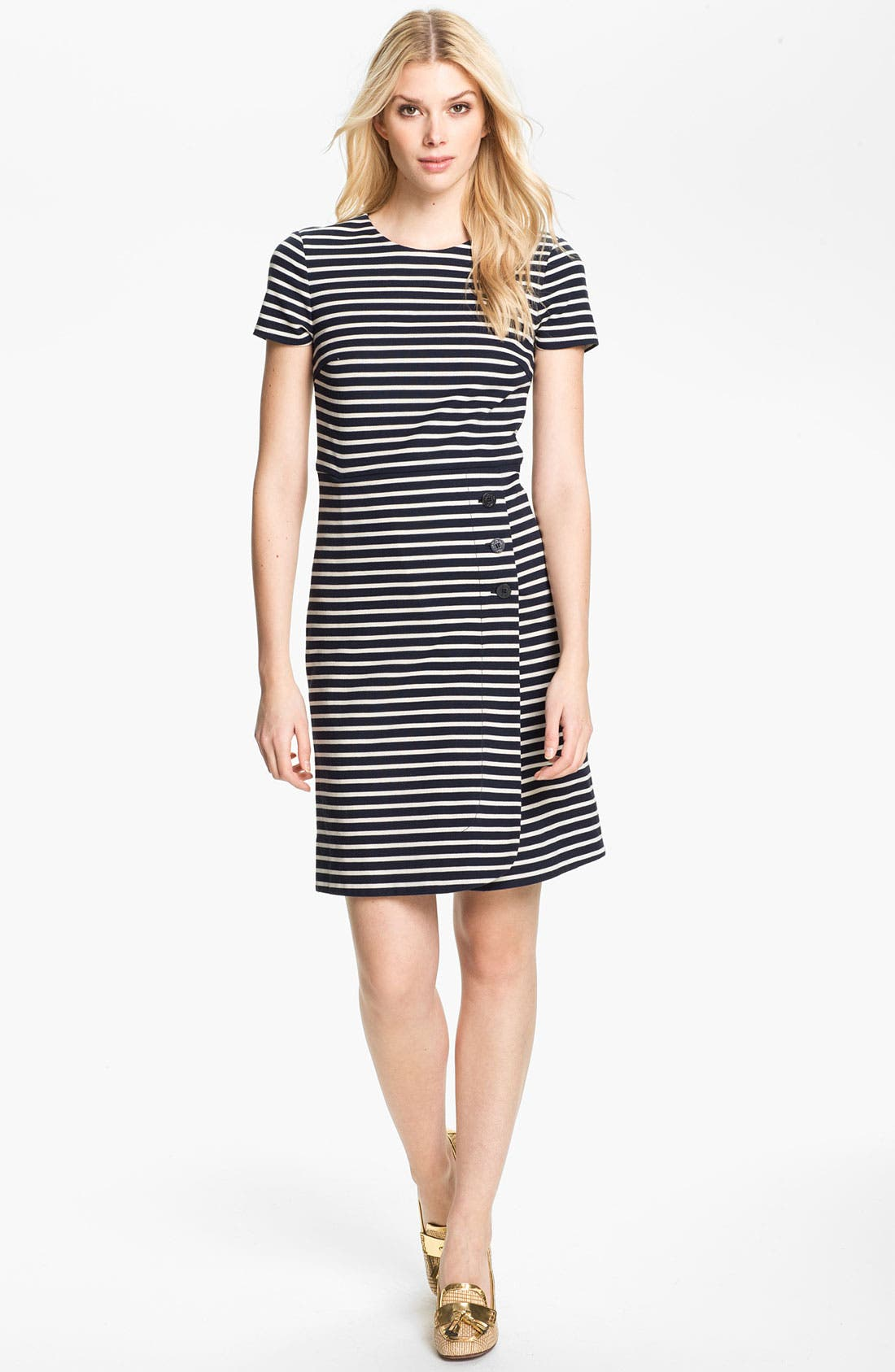 Main Image - Tory Burch 'Kamilla' Cotton Shift Dress