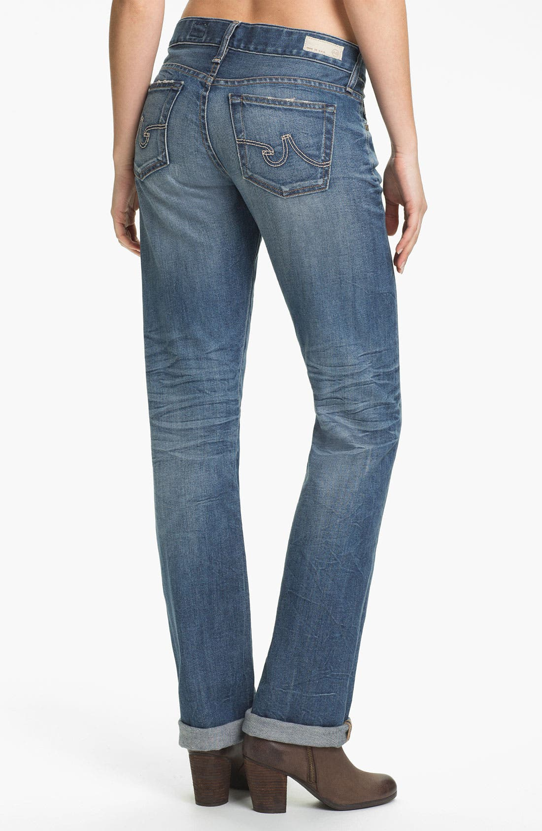 Alternate Image 3  - AG Jeans 'Tomboy' Relaxed Straight Leg Jeans (19-Year Mesa)
