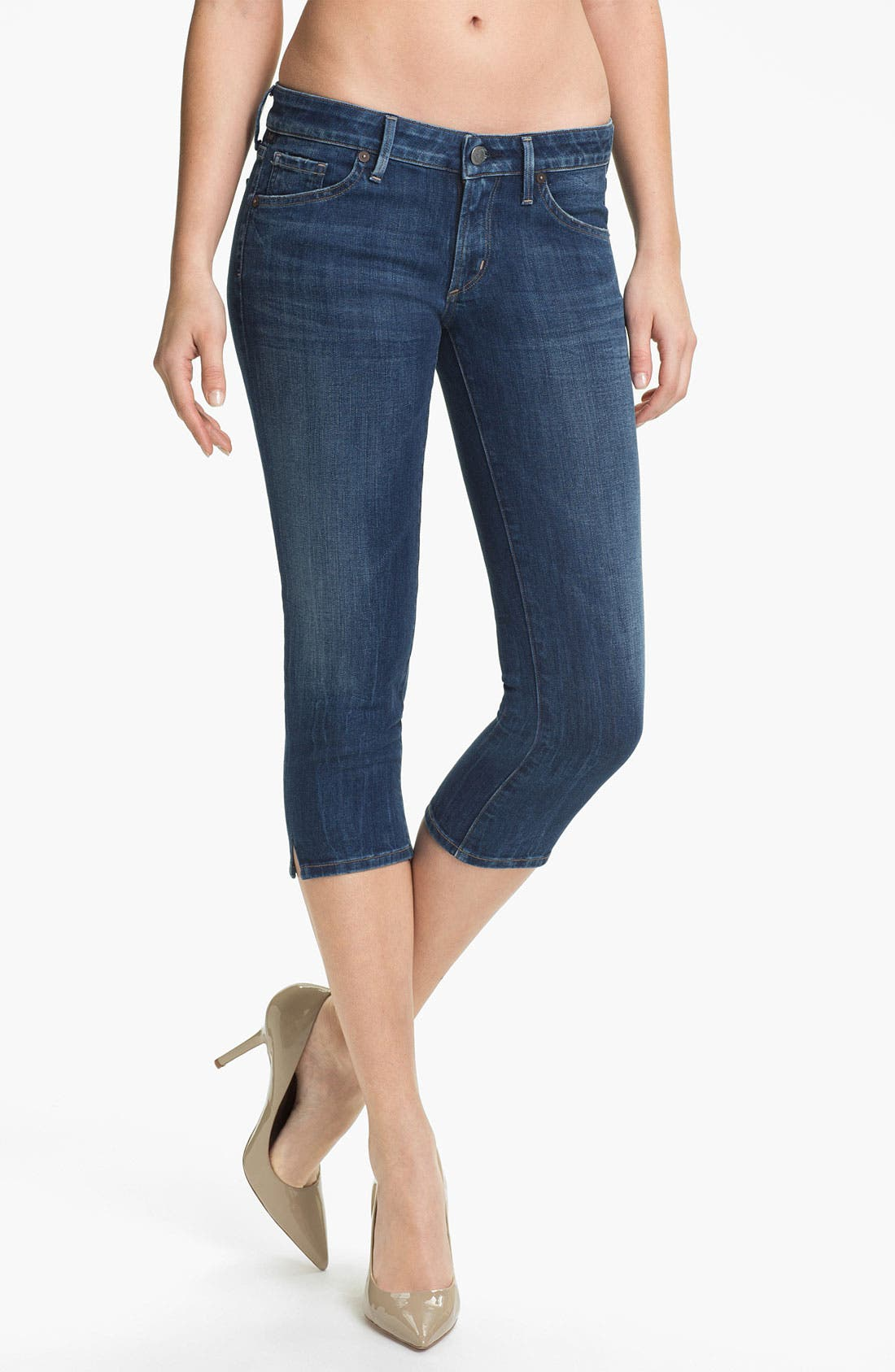 Main Image - Citizens of Humanity 'Racer' Crop Skinny Jeans (Envy)
