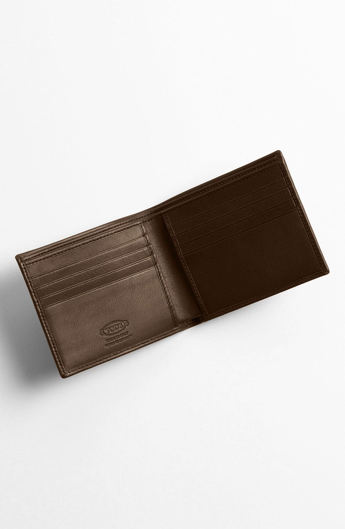 Alternate Image 3  - Tod's Leather Bifold Wallet