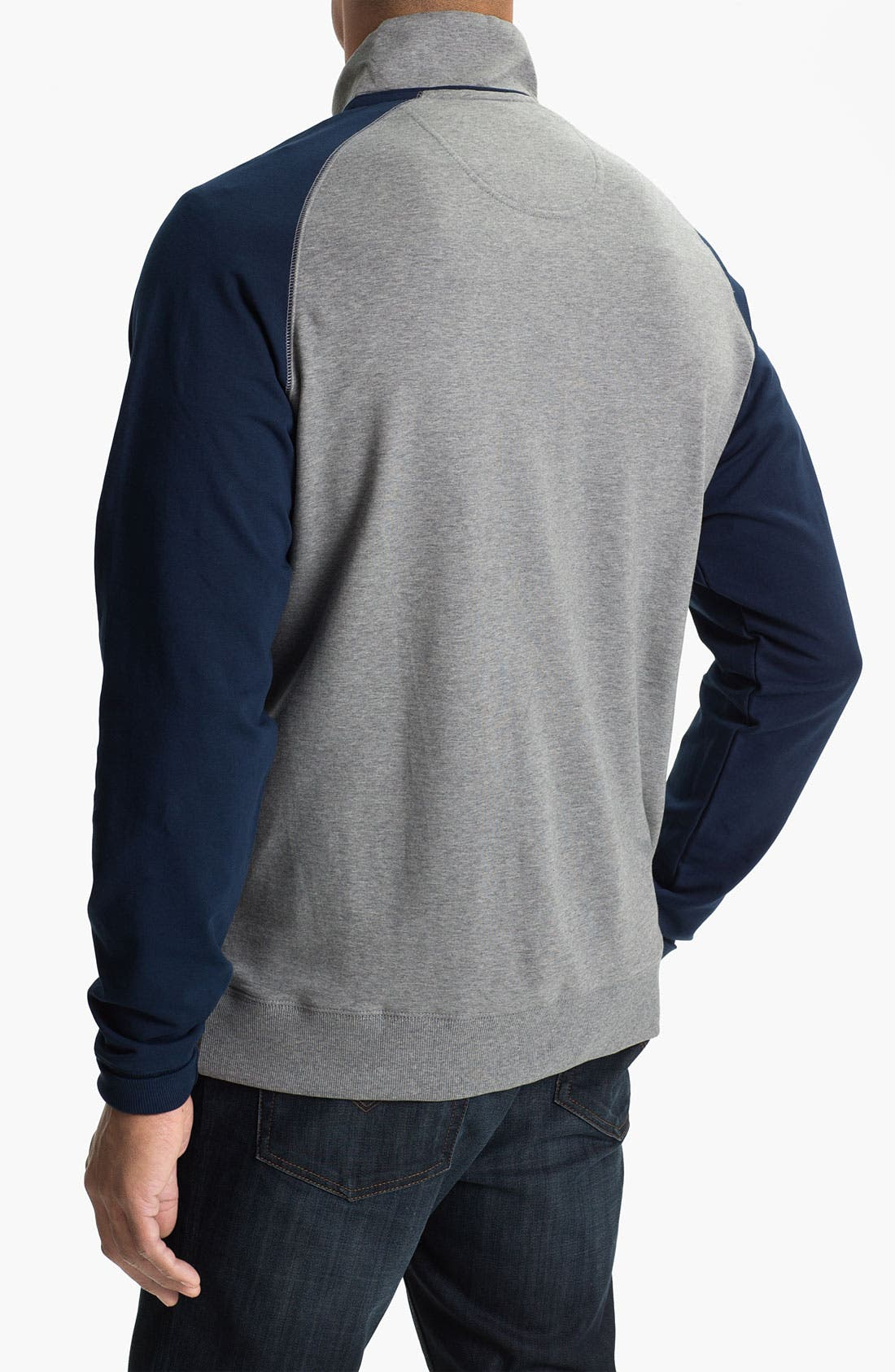 Alternate Image 2  - Cutter & Buck 'Ballinger' Half Zip Pullover (Big & Tall)