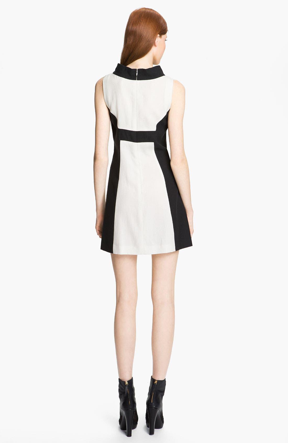 Alternate Image 2  - Rachel Zoe 'Madison II' Contrast Panel Dress