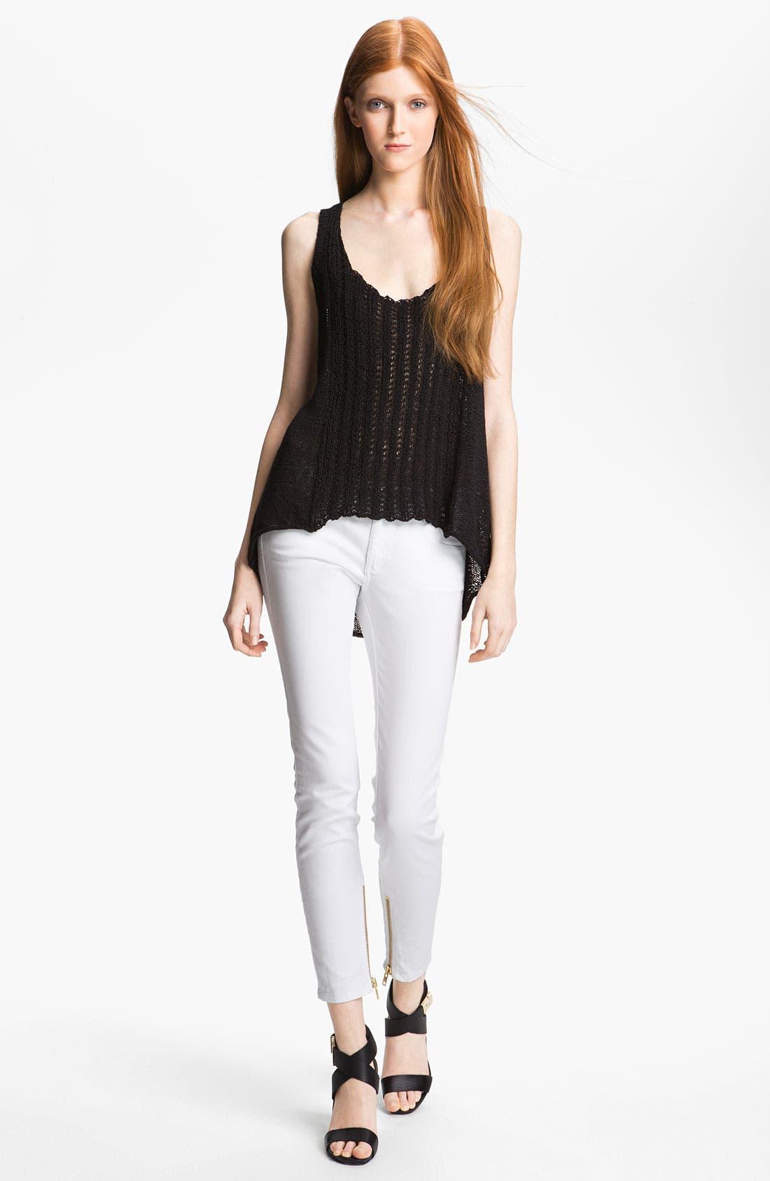 Alternate Image 1 Selected - Rachel Zoe 'Harley' High/Low Knit Tank