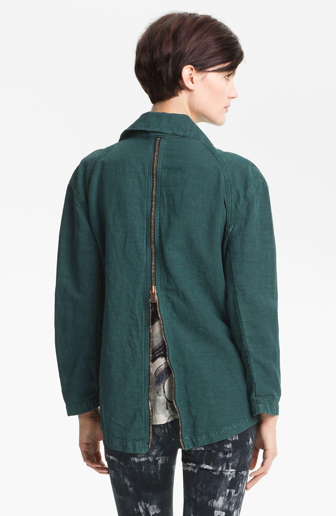 Alternate Image 3  - Kelly Wearstler 'Ornamented' Zip Detail Jacket
