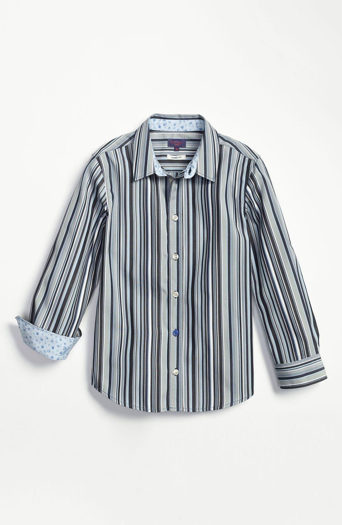Main Image - Paul Smith Junior Regular Fit Dress Shirt (Little Boys & Big Boys)